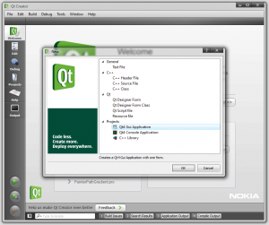 Creating a Gui Project using QtCreator.